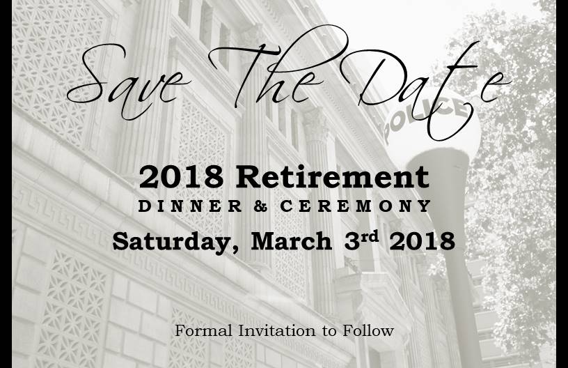 2018 retirement dinner ceremony sacramento police officers